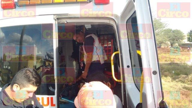 ¡Mujer conductora de camioneta arrolló a un niño de 7 años en Lagos de Moreno!