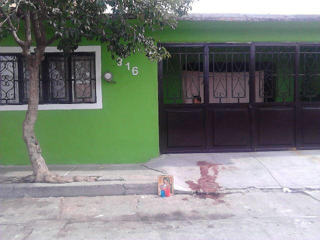 FOTOGALERIA/¡Doble asesinato al iniciar el 2015 en Aguascalientes: un sujeto mató a puñaladas a otros dos!