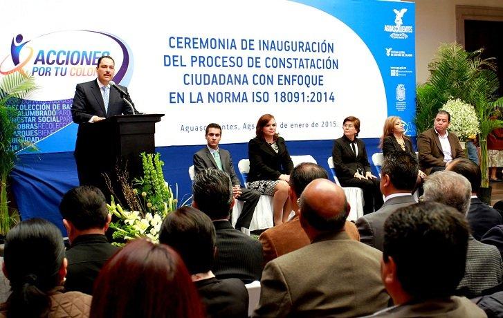 Aguascalientes será el primer municipio en adecuar sus programas en base a la evaluación ciudadana