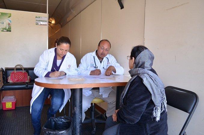 Brinda DIF Municipal atención médica a habitantes de Río Frío, Zac.