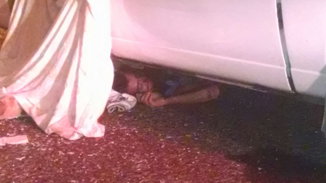 ¡Chofer de combi atropelló y mató a un sujeto que pretendía asaltarlo en Aguascalientes!