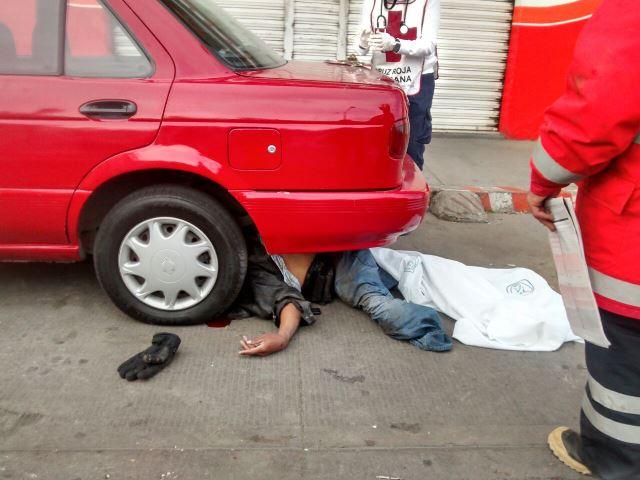 ¡Motociclista murió arrollado por un ebrio automovilista en Aguascalientes!