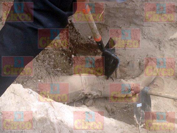 FOTOGALERIA/¡Hallan narco fosa con tres cuerpos en Fresnillo, Zacatecas!