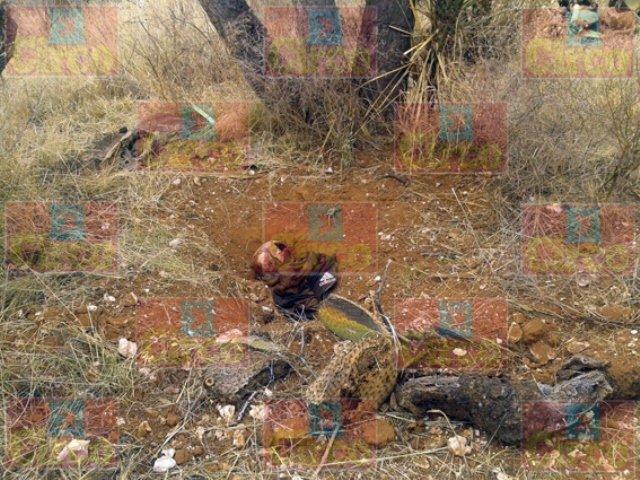 ¡Hallaron una nueva narco-fosa en Fresnillo con una osamenta humana!