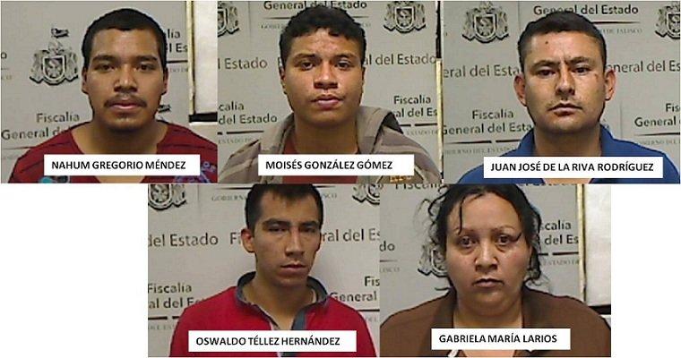 ¡Detienen a 5 narcodistribuidores cuando pretendían consumar un secuestro en Zapopan!