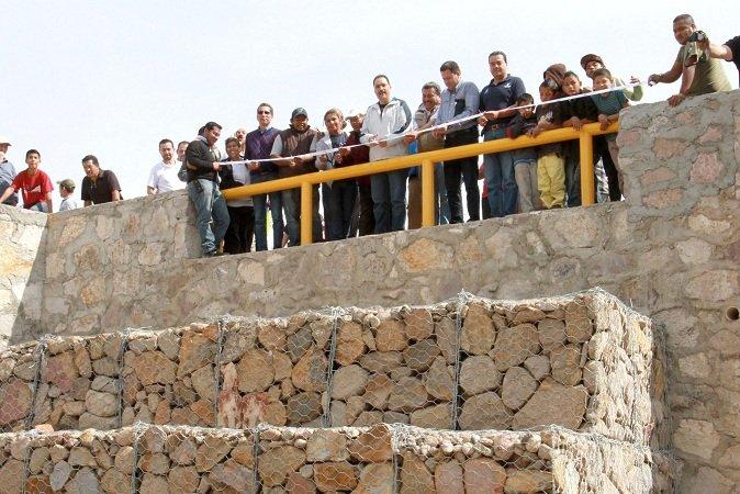 Inaugura el MunicipioAgs obras de infraestructura hidráulica en Norias de Paso Hondo