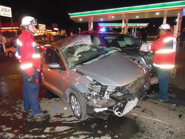 ¡Joven murió en espantoso choque en Aguascalientes provocado por un borracho!