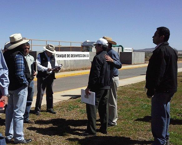 En marzo inaugurarán la planta de tratamiento de aguas residuales de Calera