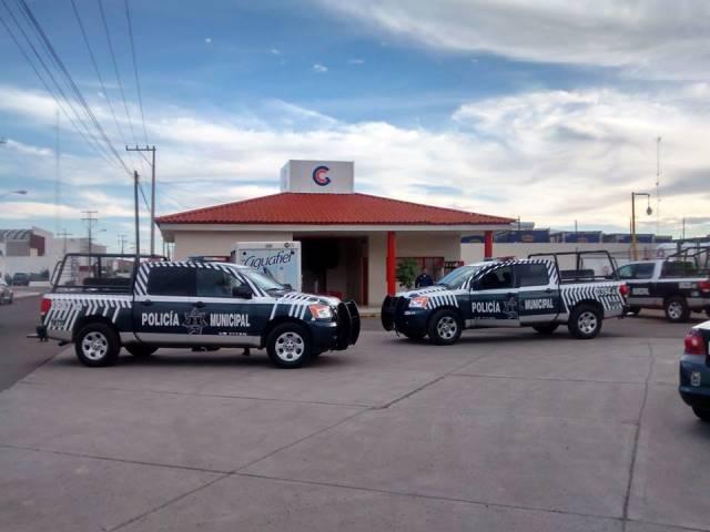 ¡Pistolero asaltó una gasera en Aguascalientes y se llevó el dinero de las ventas!
