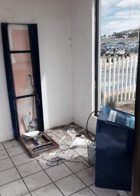 ¡Asaltantes robaron un cajero automático del Instituto Tecnológico de Zacatecas!