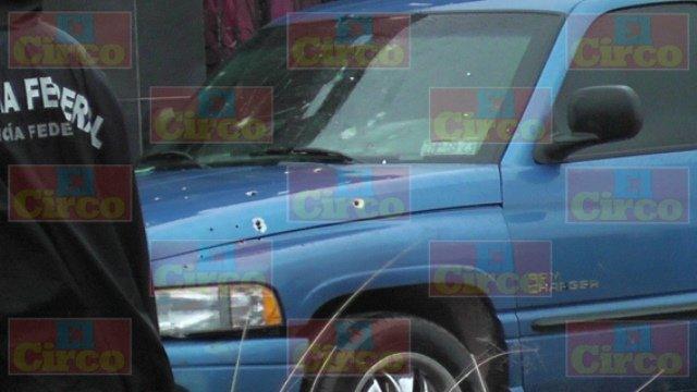 ¡Aseguraron una camioneta baleada en Fresnillo!