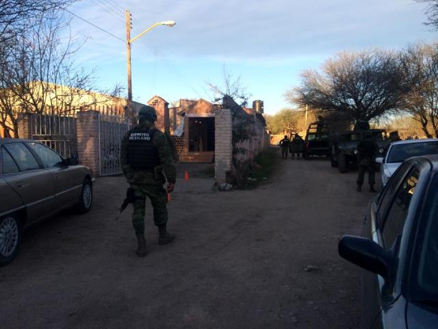 ¡Comando armado baleó una casa en Cosío, Aguascalientes, y huyó a Zacatecas!