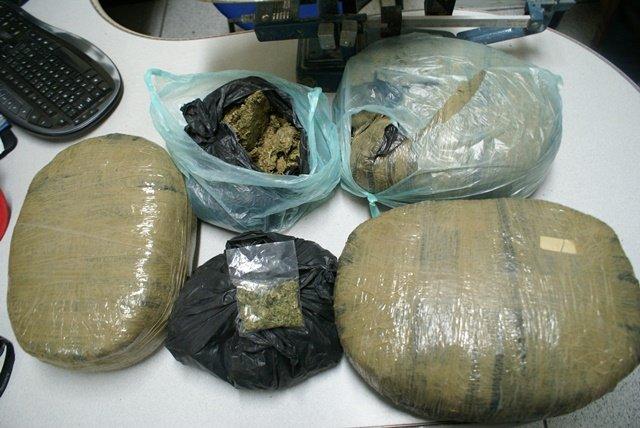 ¡Doble golpe al narcotráfico en Aguascalientes: atraparon a 6 narcos con 7 kilos de marihuana!