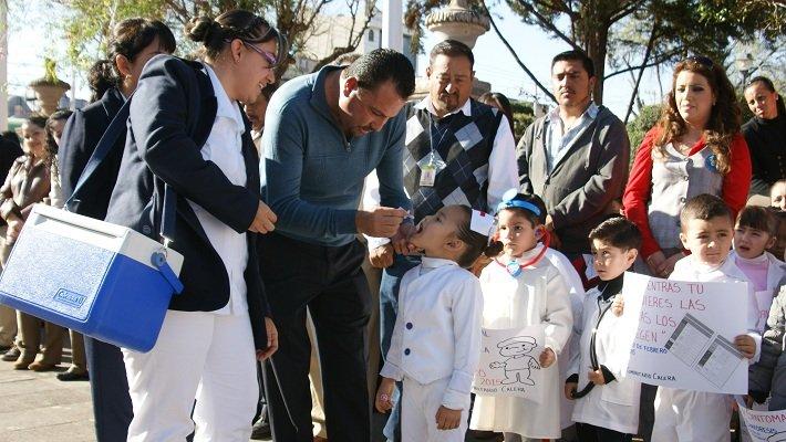 Inauguran actividades de la 1ª Semana de Salud en Calera