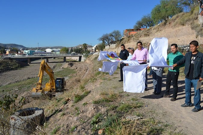 Arrancan proyectos de obra pública en el Malecón de Calvillo