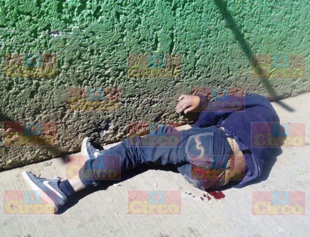 ¡Ejecutaron a balazos a un hombre e hirieron gravemente a otros dos en Fresnillo!