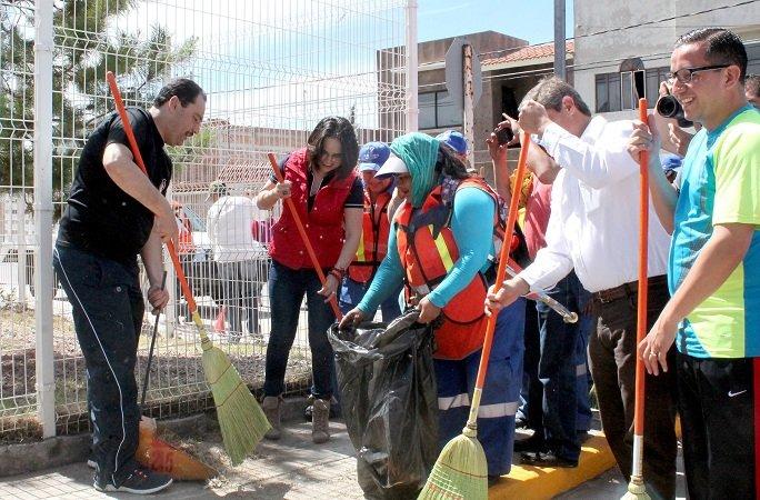 """Encabezó el MunicipioAgs el programa """"Juntos limpiemos Aguascalientes"""""""