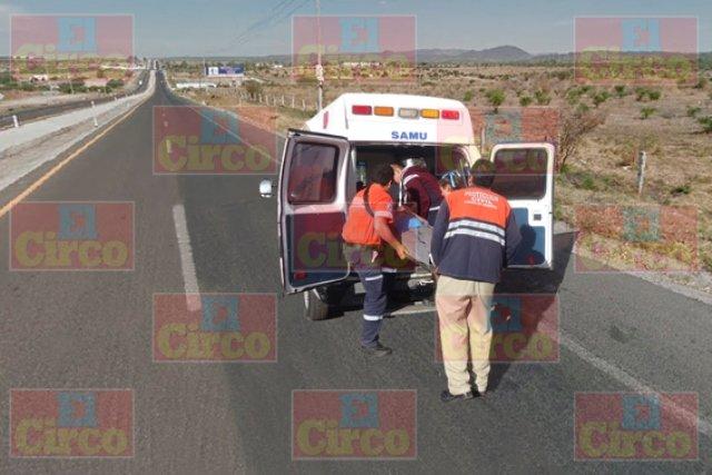 "¡Motociclista murió embestido por un auto ""fantasma"" en Lagos de Moreno!"