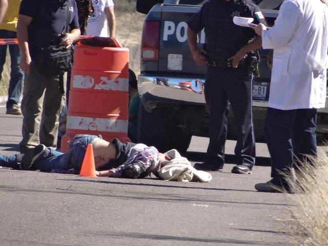 ¡Adolescente fue atropellado y arrastrado por una camioneta en Calvillo, Aguascalientes!
