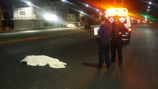 ¡Ebrio zapatero murió atropellado por veloz camioneta en Aguascalientes!