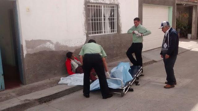 ¡Septuagenario murió en la vía pública en Aguascalientes!