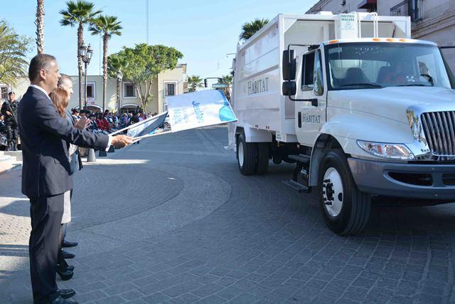 ¡Estrena Ayuntamiento de Jesús María otro camión recolector de basura!
