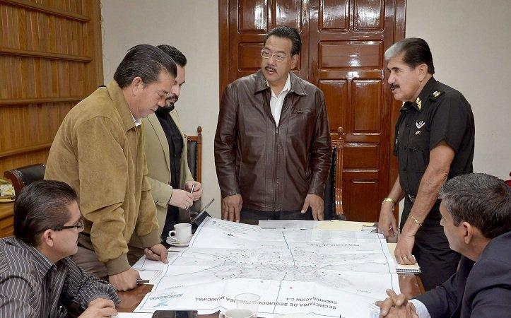 Presentó el General Pablo Godínez su 1er Informe de Trabajo al frente de la SSPM
