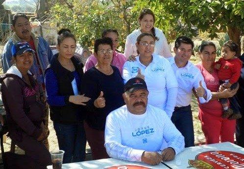 ¡Sin descanso la precampaña de Jorge López en el Tercer Distrito!