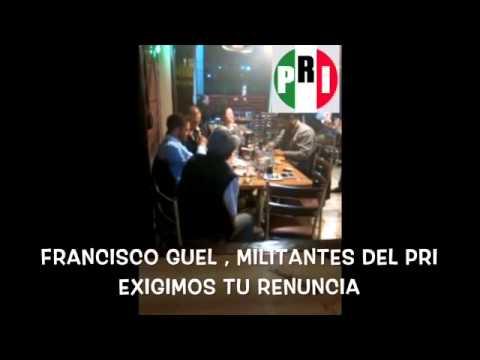 ¡Captan borracho al presidente del PRI, militantes piden su renuncia!
