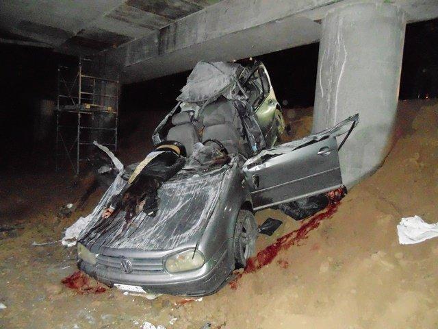 ¡Ya identificaron a los 3 muertos y 2 lesionados del espantoso accidente en Aguascalientes!