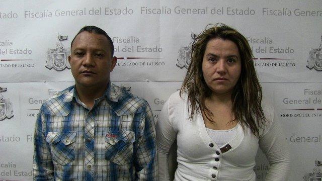 ¡Detienen a pareja de asaltantes de clientes bancarios en Jalisco!