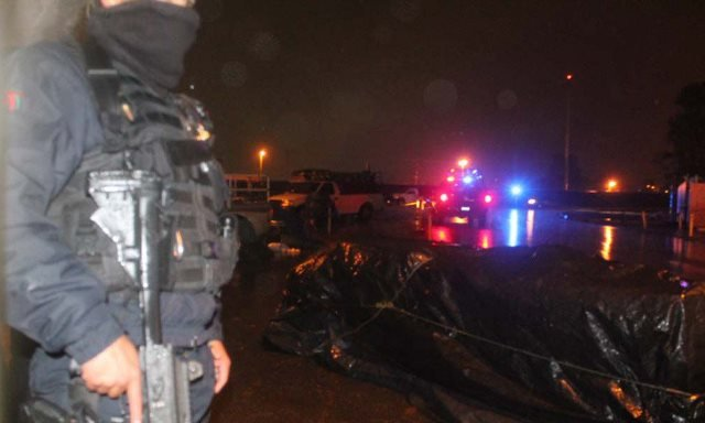 ¡Balacera en el Mercado de Abastos de Zacatecas arrojó la detención de 4 delincuentes!
