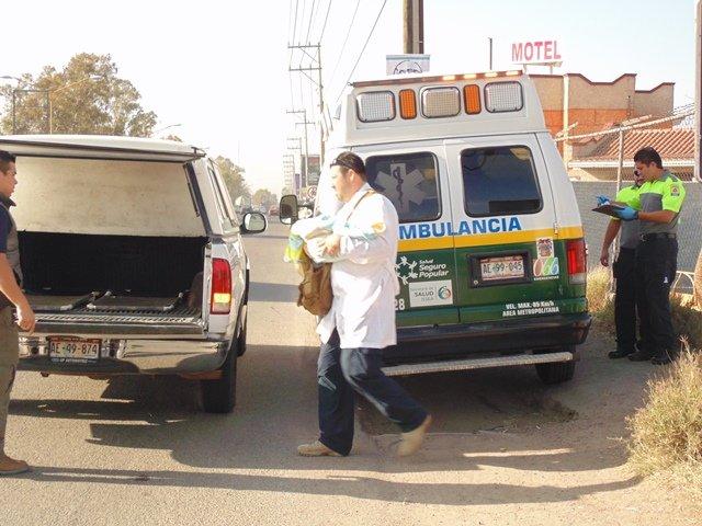 ¡Bebé de un mes de nacido murió de una neumonía a bordo de una combi en Aguascalientes!