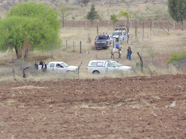 ¡Asesinaron y calcinaron a un hombre en Aguascalientes!