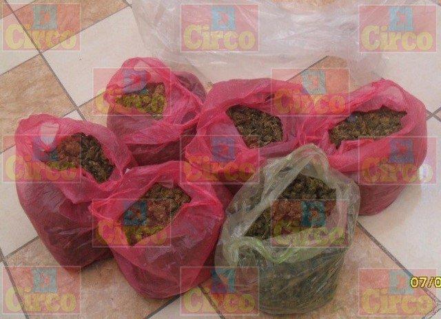 ¡Capturaron a un sujeto con 28 kilos de marihuana y metanfetamina en San Juan de los Lagos!