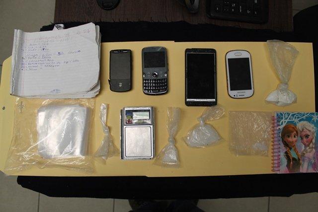 ¡Atraparon a 2 narcotraficantes y a uno de sus clientes en Cosío, Aguascalientes!