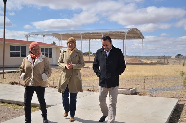 ¡Invierten 3.2 mdp en infraestructura educativa en Calera!