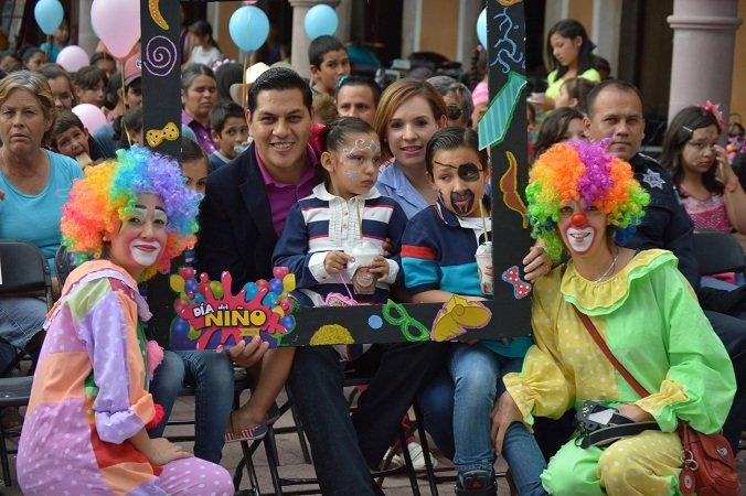 ¡Adelantó el municipio festejos por el Día del Niño en Calvillo!