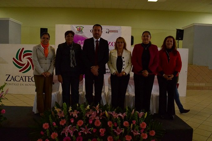 Celebró el DIF Municipal de Calera el Día Internacional de la Mujer