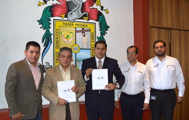 ¡El Ayuntamiento de Calvillo firmó convenio de colaboración con la CONDUSEF!