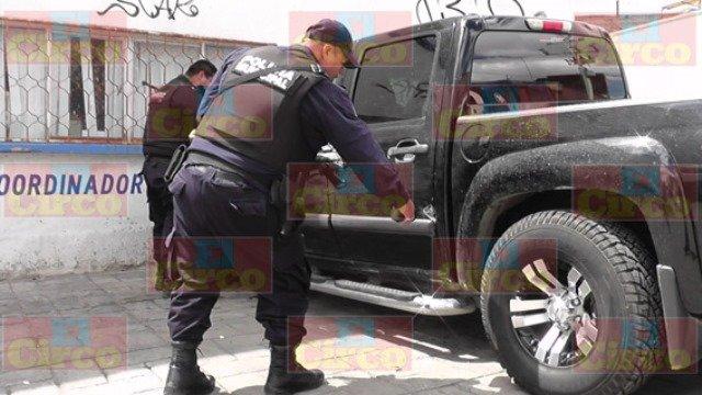 ¡Aseguraron camioneta robada y utilizada por sicarios en Fresnillo!