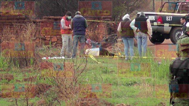 ¡De 4 balazos ejecutaron a un hombre en Fresnillo, Zacatecas!