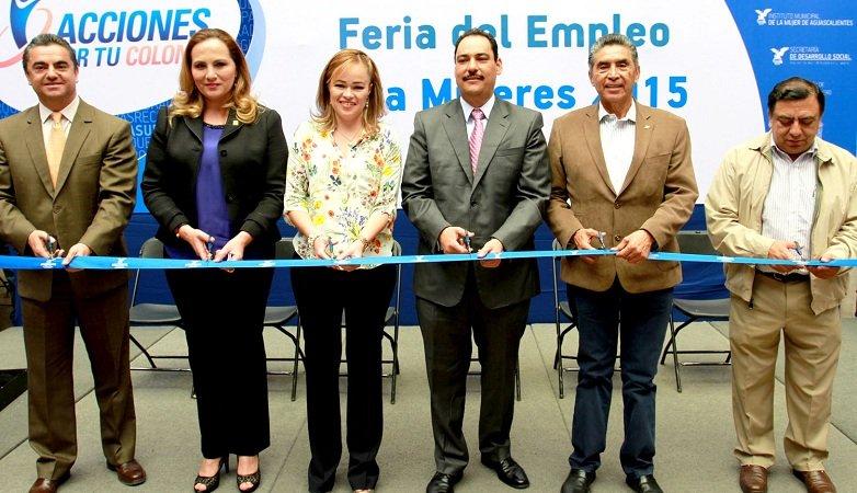 ¡Inauguró el MunicipioAgs la Feria del Empleo para Mujeres 2015!