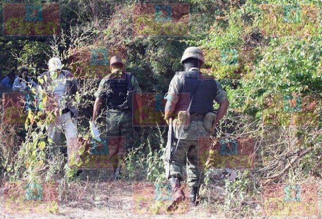 ¡Militares hallaron un cuerpo desmembrado en Lagos de Moreno!