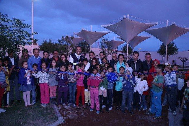 ¡Inauguró Antonio Arámbula instalaciones deportivas en Jesús María!