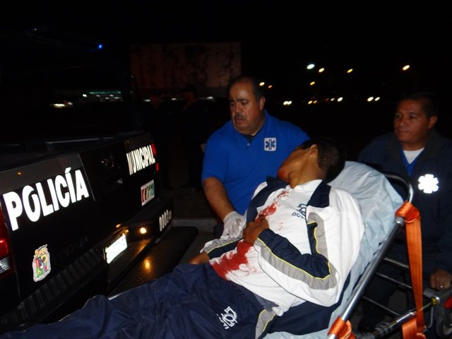 ¡Estudiante fue apuñalado de gravedad por un asaltante en Aguascalientes!