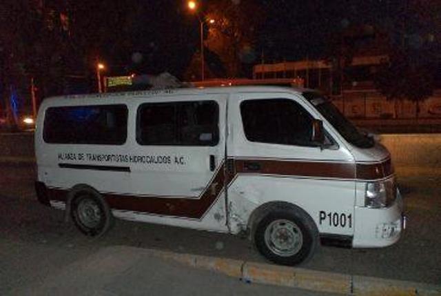 ¡Niño murió atropellado por una combi de transporte público en Aguascalientes!