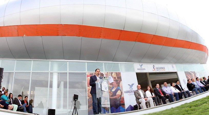 ¡El alcalde Juan Antonio Martín del Campo entregó espectacular mercado en VNSA!