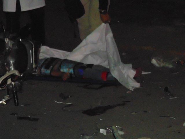 ¡Niña de 6 años murió en espantoso accidente de motocicleta en Aguascalientes!