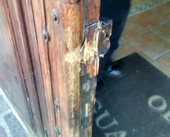 ¡Delincuentes saquearon las oficinas del Obispado en Aguascalientes!